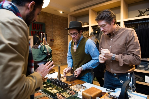 J Crew Men's Shop Opening 5