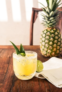 pineapple-cilantro-margarita